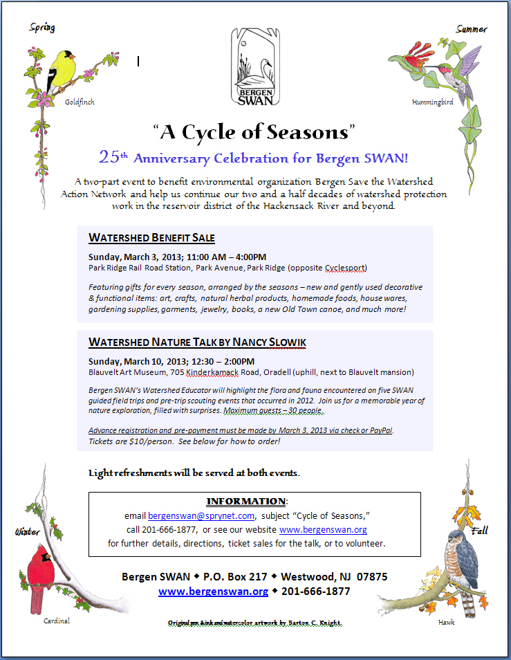 Cycle of Seasons Flyer