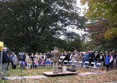 Hague Park Dedication