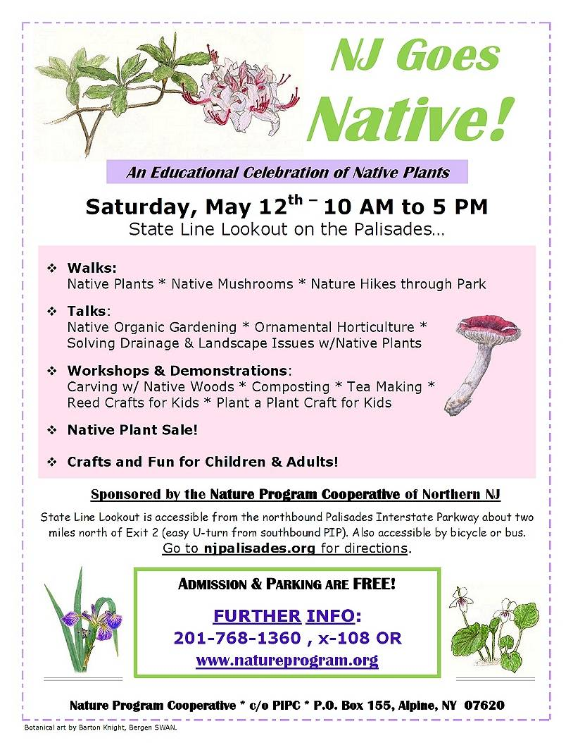 native plant event flyer